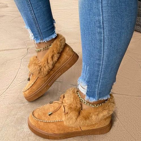 נעל כותנה מפנקת לחורף