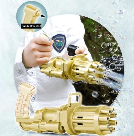רובה בועות סבון לילדים