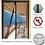 Thumbnail: רשת נגד מעופפים לבית עם סגירה מגנטית