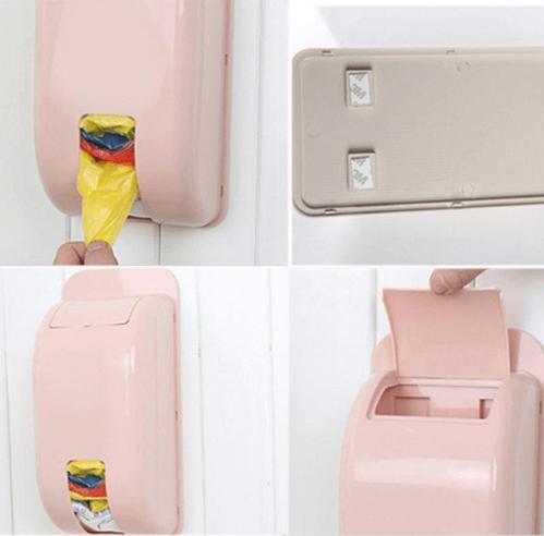 סוף לבלאגן - אחסון שקיות פלסטיק