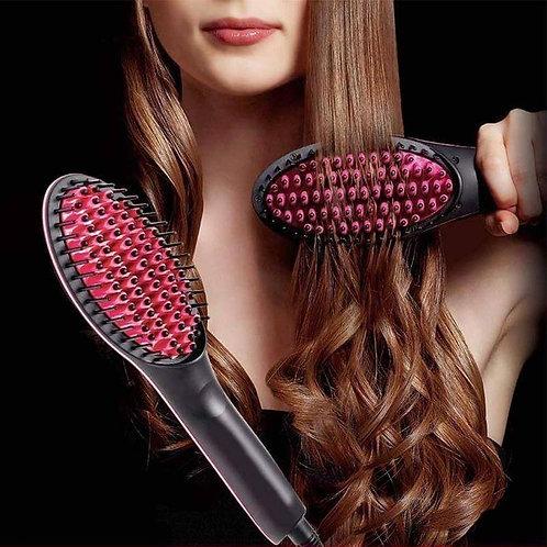 מברשת שיער מחליקה ומעצבת