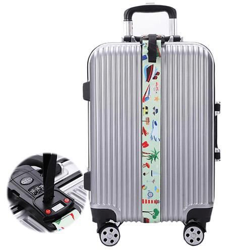 רצועת אבטחה למזוודה עם משקל