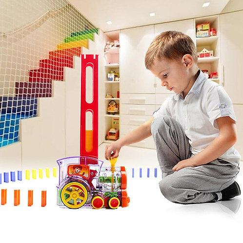 רכבת דומינו - משחק ילדים מעולה