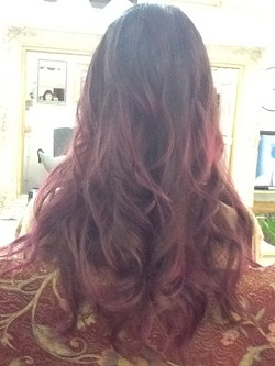 ruby red color
