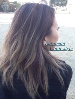 European Hair Design style