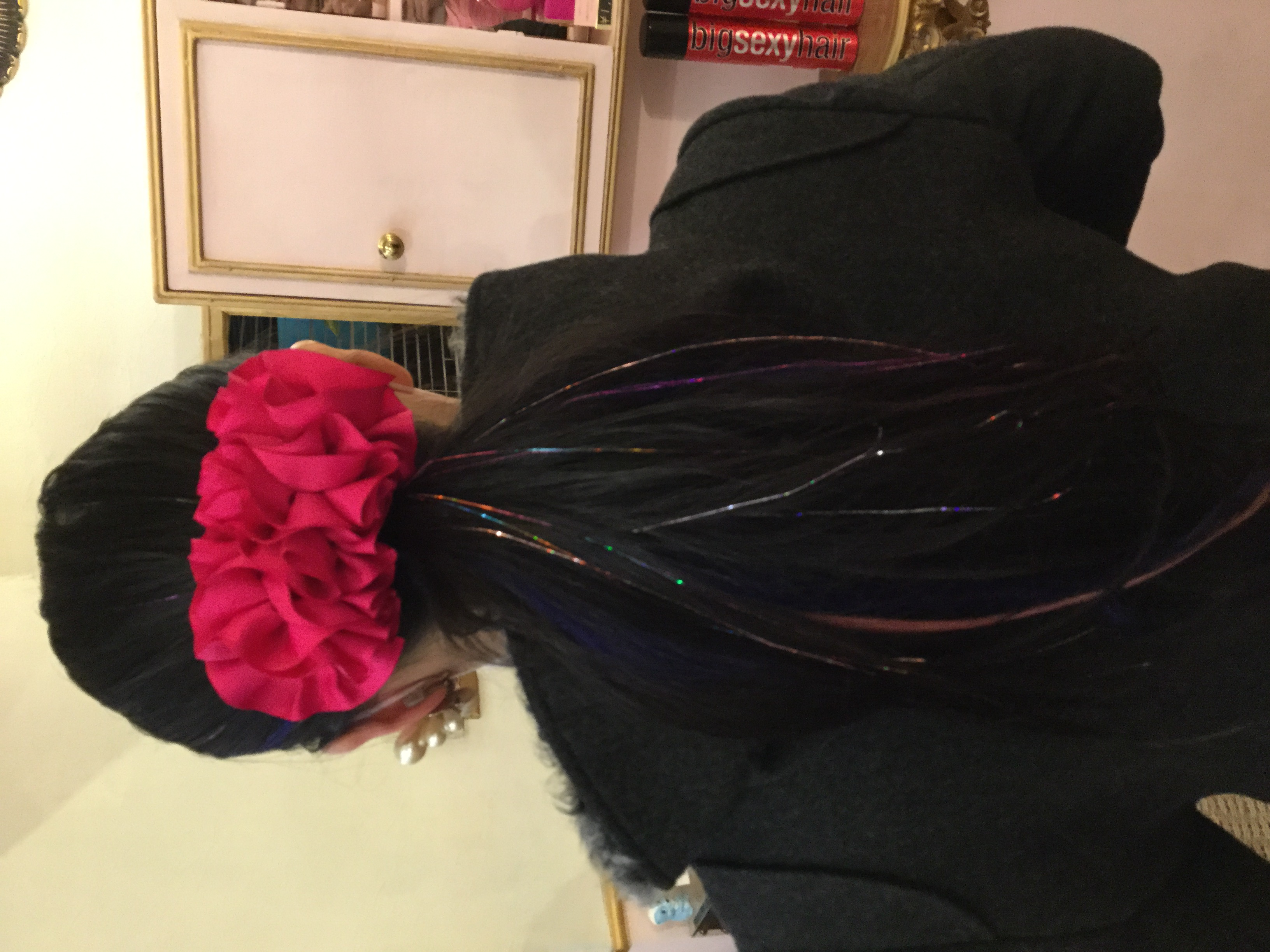 Hair Tinsel キラキラエクステ