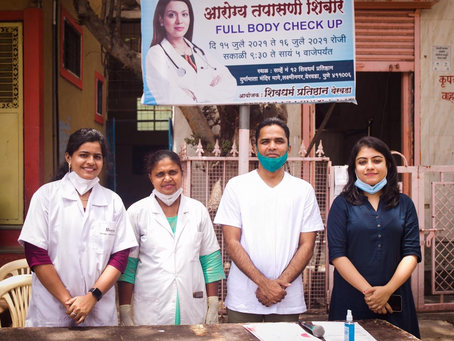 July Cancer Screening and Training in Pune, Maharashtra