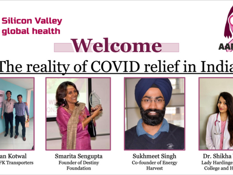 The Current Reality of COVID-19 Relief in India: May 26th Forum