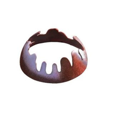 CHOCOLATE SHELL CRATER SMALL