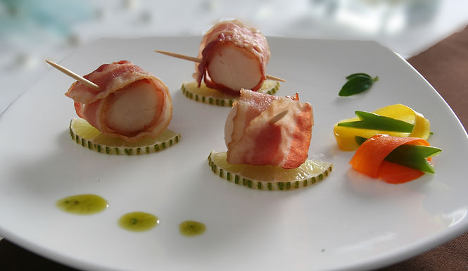 BACON WRAPPED SEA SCALLOP