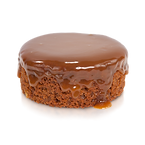 WARM GINGER CARMEL SPICE CAKE