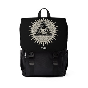 he Eye In The Sun Shoulder Backpack