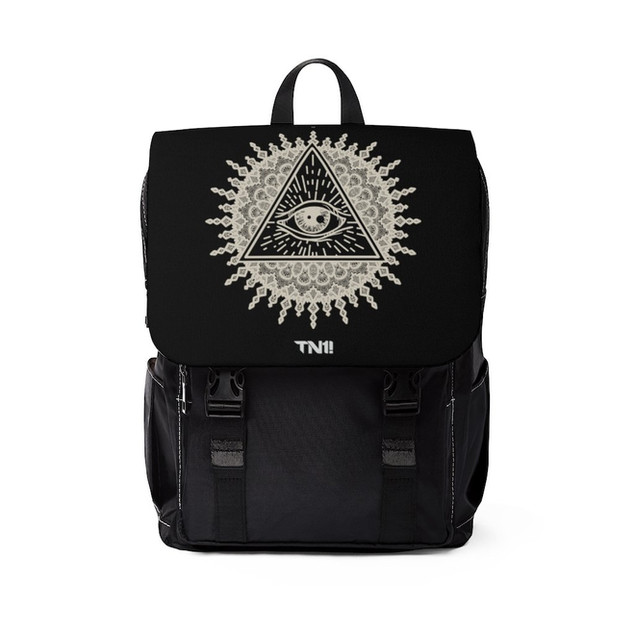 he Eye In The Sun Shoulder Backpack