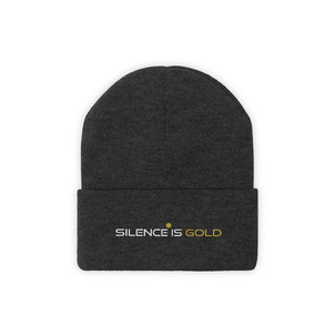 Silence Is Gold - Beanie