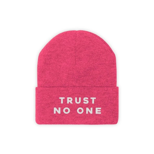 TN1! - Trust No One Beanie