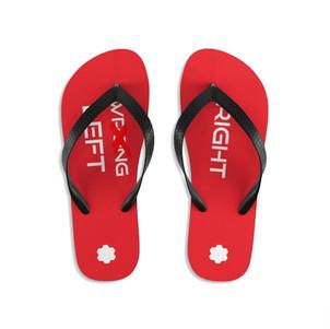 Unisex Flip-Flops (Red)