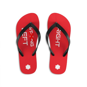 Unisex Flip-Flops (Red) Regular priceSale price$37.00