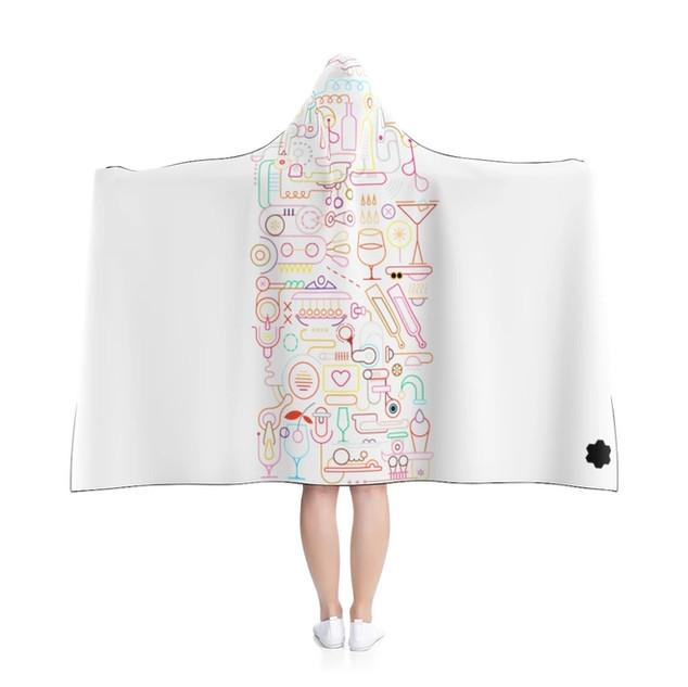 Hooded Blanket (White)