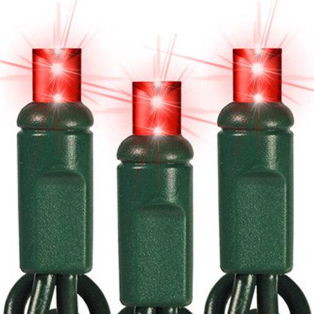 50 Light Red 5 mm LED