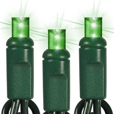 50 Light Green 5 mm LED