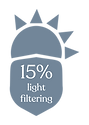 Opacity Icon_FINAL_15% LIGHT FILTERING.p
