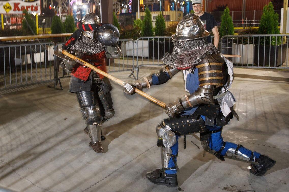 Gladiator Tournament Match