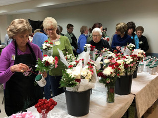 January 2018 Valentine's Day Fresh Flower Workshop