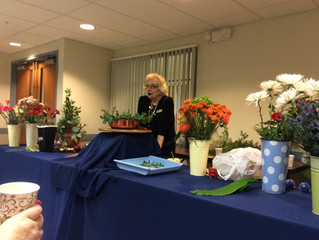 November Floral Design Program & Meeting 2017