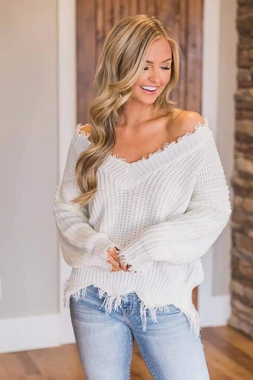 Light weight sweater top