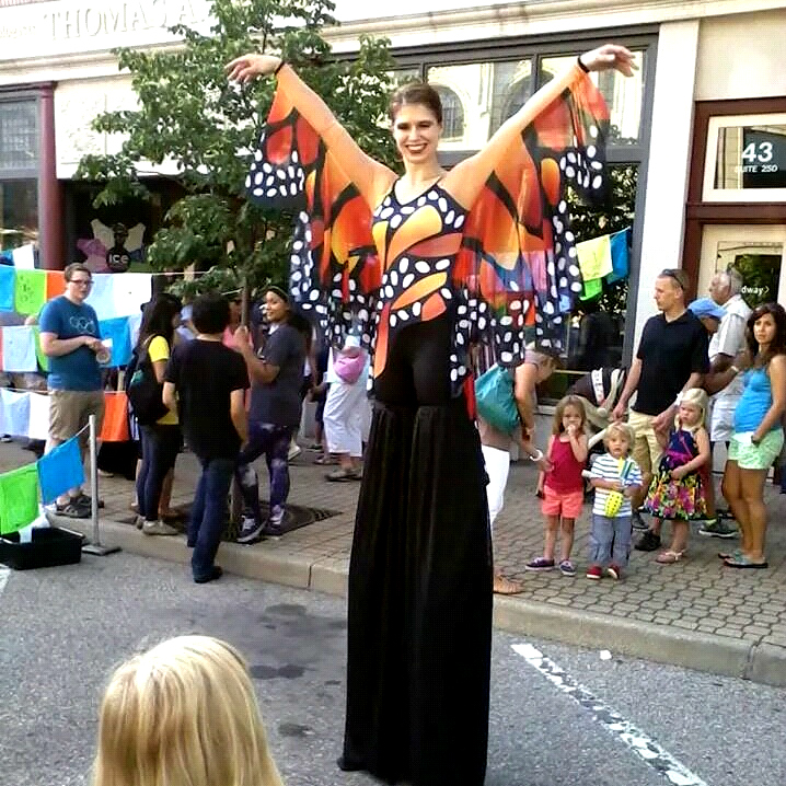 Butterfly Stilts