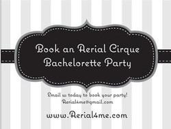 Bachelorette Cirque Parties