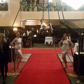 Aerialist Champagne Red Carpet