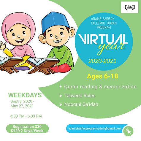 ADAMS Fairfax Taleemul Quran Program (We