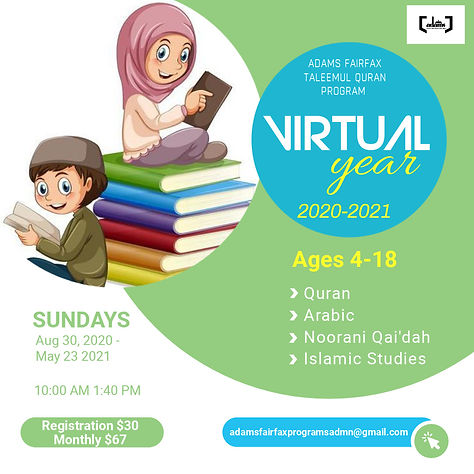 ADAMS Fairfax Taleemul Quran Program (Su