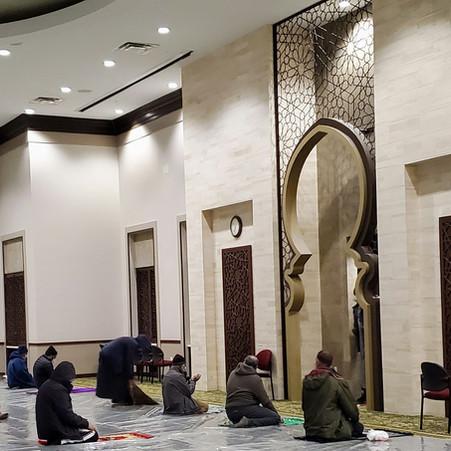 Daily Fajr & Isha Prayers at ADAMS Sterling