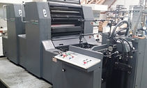 Used 1 and 2 color Printing Press