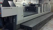 Used 5-Color Printing Press