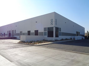 warehouse with climate controlled storage of printing equipment