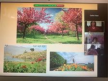 online Stydents learniung aboput seasons
