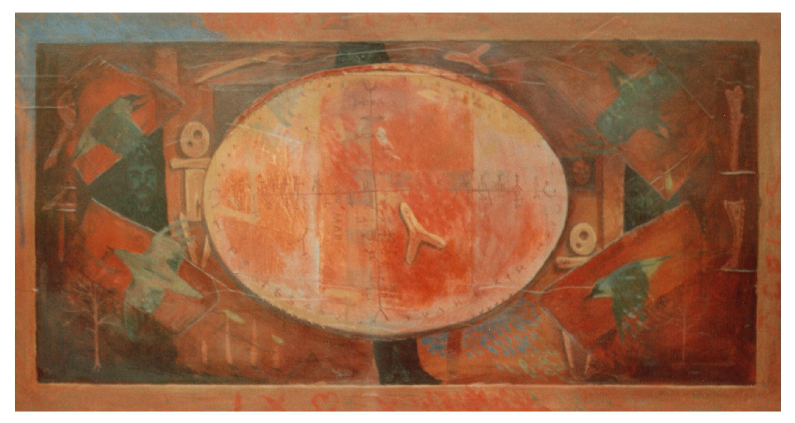 The Shaman's Drum 50x80cm £1950