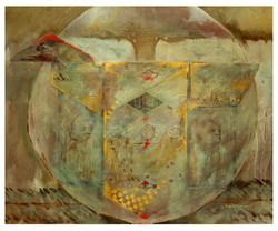The Golden Bird 60 x 50cm £1600