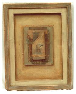 Box of Acorns 25 x 35cm Sold