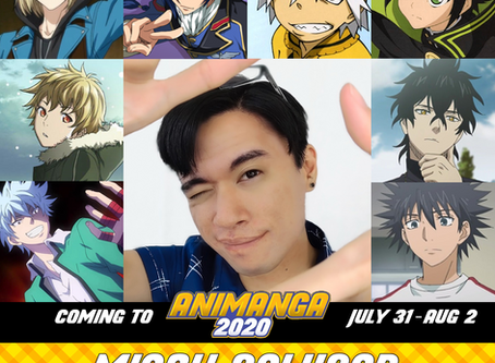 Animanga 2020 Announces Special Guests for Anime & Gaming Convention