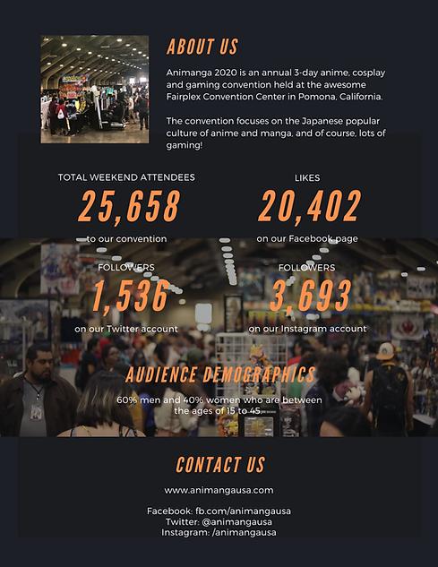 Animanga 2020 Media Kit