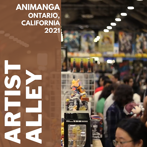 2021 Artist Alley Table Purchase