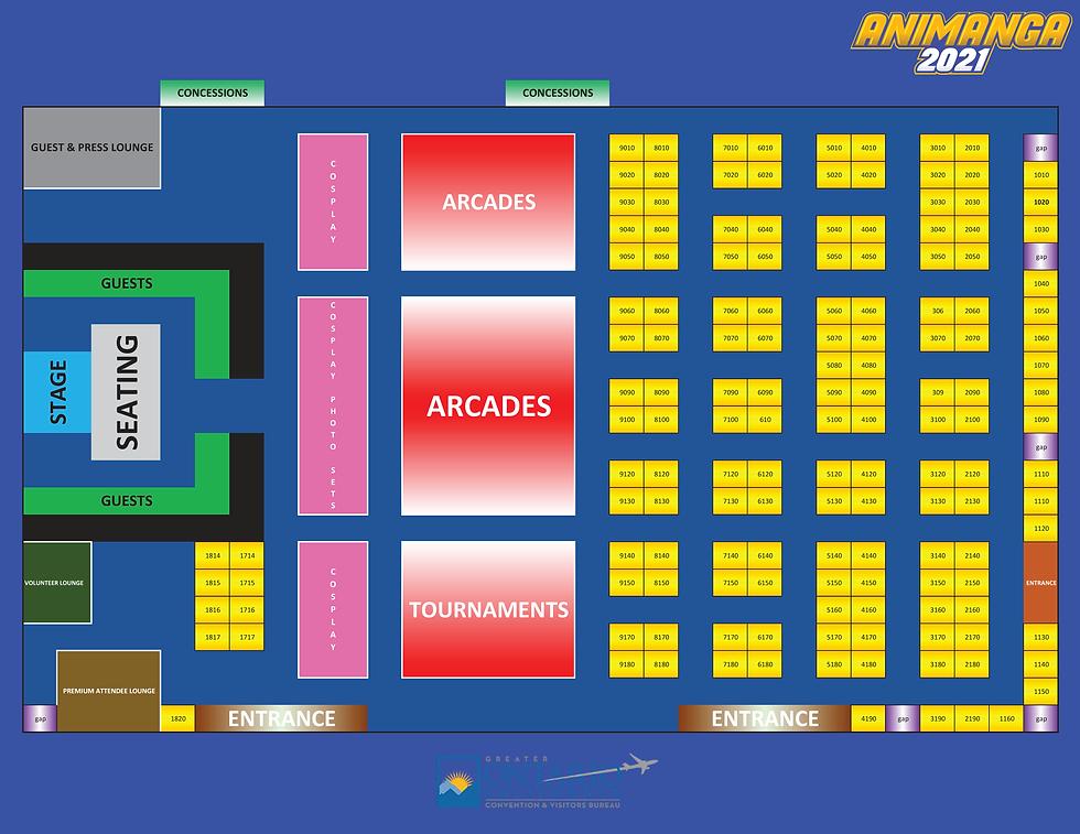 2021 - Animanga Floorplan