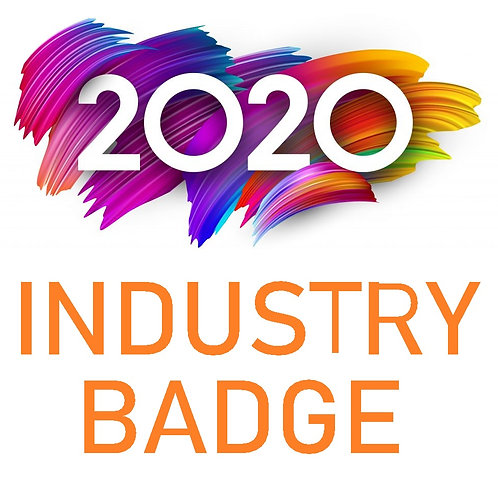 Industry Weekend Badge