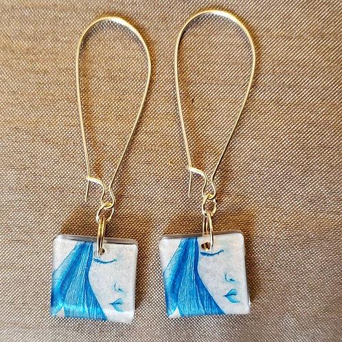 Resolve drop earrings