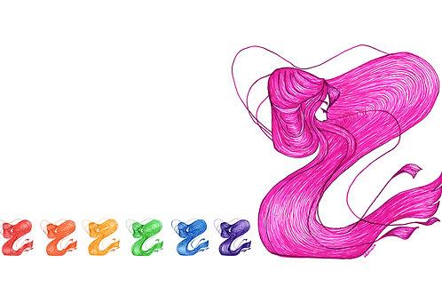 "Resonant Rainbow1 (55"" X 40""print)"