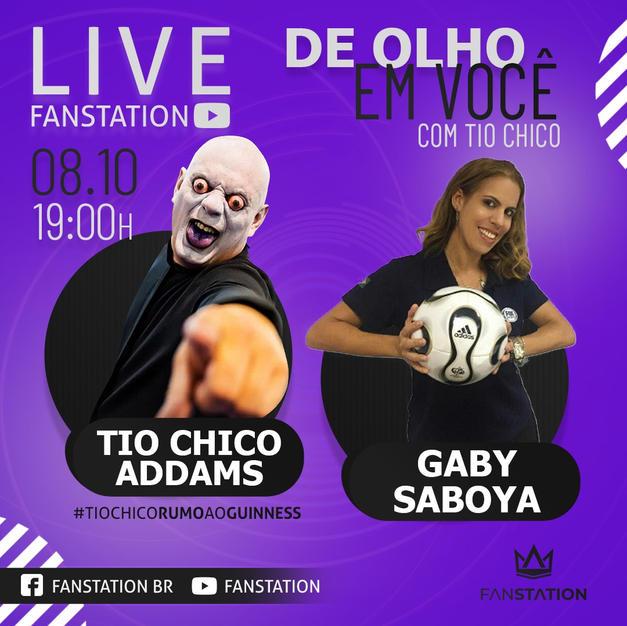 Tio Chico & Gaby de Saboya